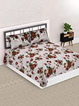 Valito - Microfiber, Double Bedsheet, Queen Size (220 cm x 235 cm) with 2 Matching Pillow Covers