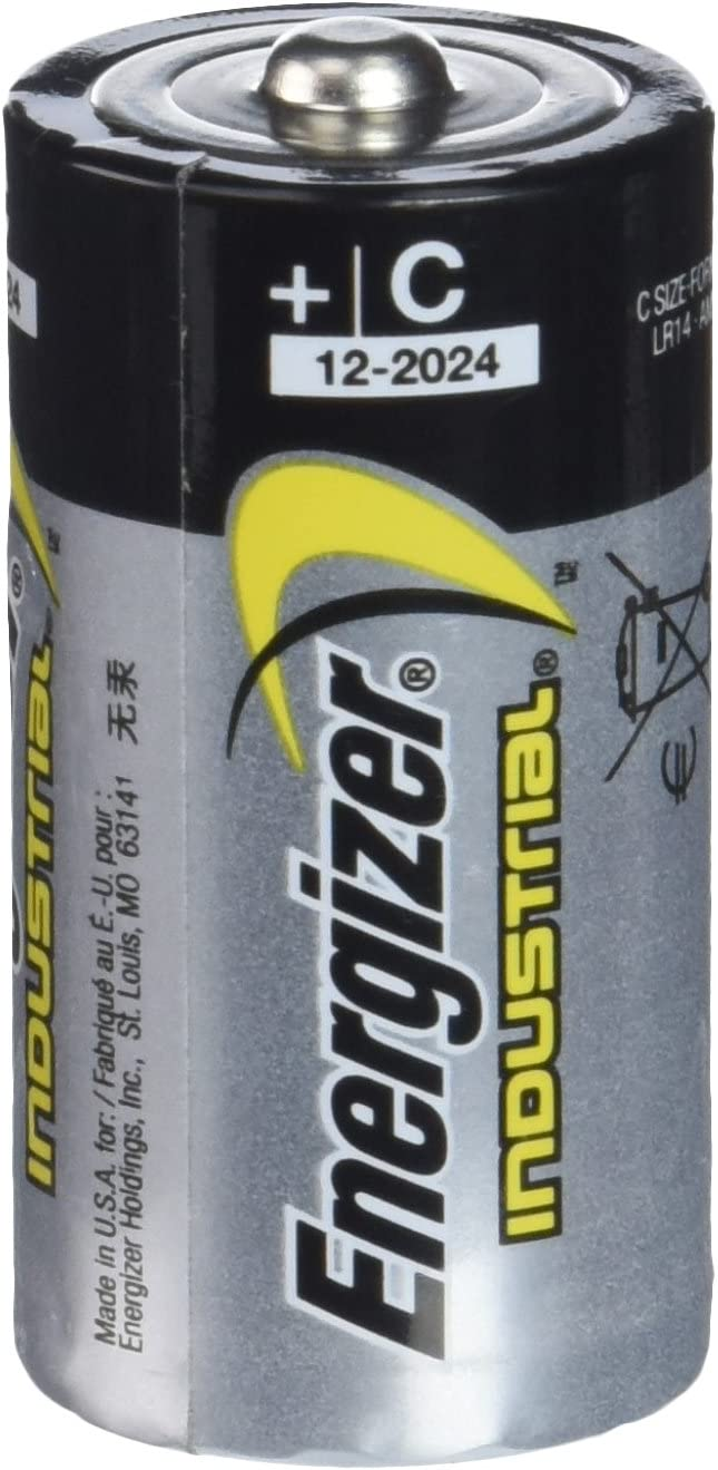 Energizer Industrial C Be super welcome Alkaline Battery Batteries pe Long-awaited 12 9 Volt