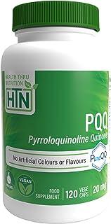 Health Thru Nutrition Pqq 20mg 120 Vegecaps (pyrroloquinoline Quinone), 120 Count
