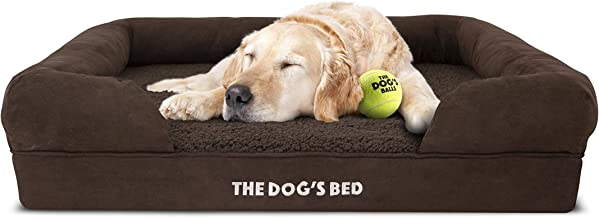 The Dog's Bed Orthopedic Dog Bed, Waterproof, Premium Memory Foam S-XXL, Dog Pain Relief for Arthritis, Hip & Elbow Dyspla...
