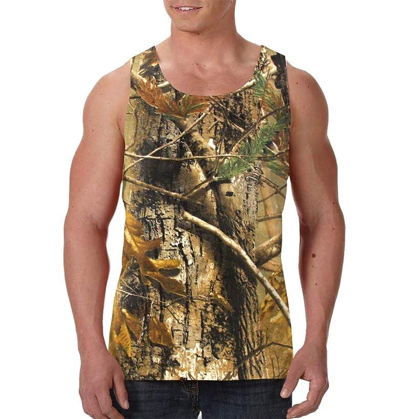 FANTASY SPACE Men's Sleeveless Undershirt Summer Sweat Shirt Beachwear - Moisture Wicking