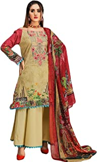 IshDeena Pakistani Party Dresses for Women. Ready to Wear. Embroidery Salwar Kameez Suit