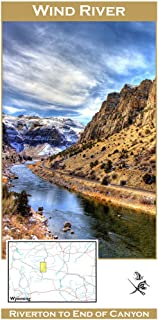 Wind River Canyon 11x17 Fly Fishing Map