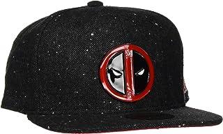 Deadpool - Metal Badge Logo Snapback, grigio scuro/rosso