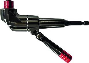 TIVOLY 11521320002 - Portapuntas angular con mango ajustable a 360º para atornillar en sitios de difícil acceso