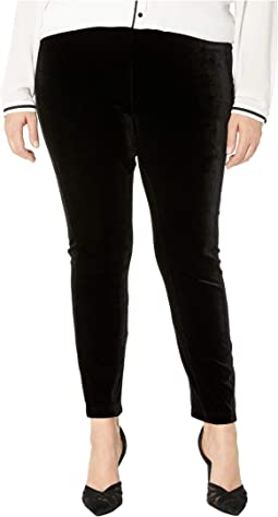 Plus Size Mara Velvet Leggings
