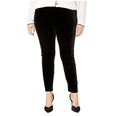 Lysse Plus Size Mara Velvet Leggings (Black) Women