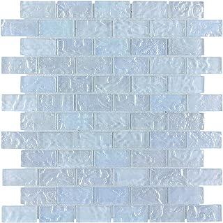 Ice Mosaic Glass Tile 1