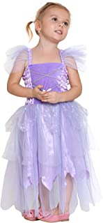Girls Fairy Princess Dress Costumes with Wings Kids Tinkerbell Tutu Costumes