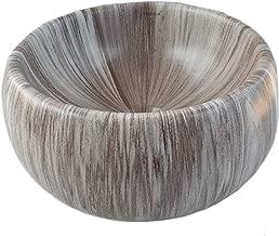 STM Ceramic Wash Basin (14 inches_Dark Brown)