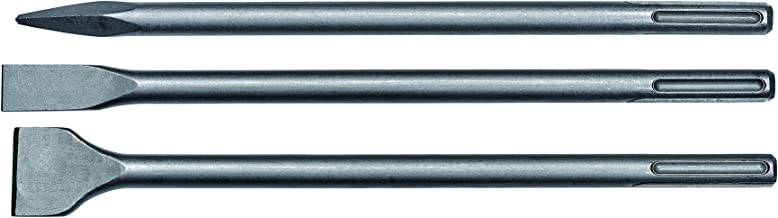 Einhell 4258101-  Brocas de cincel plano (Martillo perforador, 40 cm, SDS Max), 3 piezas