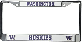 Washington Huskies Chrome Frame