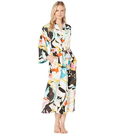 N by Natori Rose Stained Glass Robe (Multi) Women