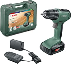 Bosch Cordless Drill Driver UniversalDrill 18 (1 Battery, 18 Volt System, 1.5 Ah, in Case)