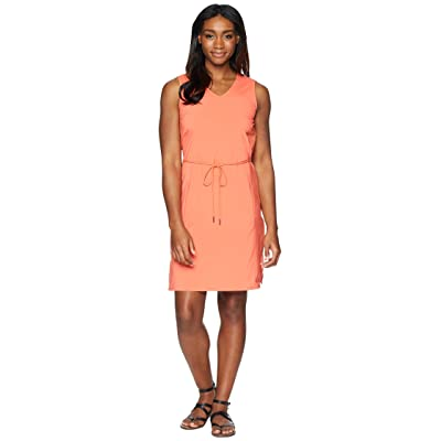 Jack Wolfskin Tioga Road Dress (Hot Coral) Women