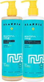 Alaffia - Beautiful Curls, Curl Enhancing Shampoo and Leave-In-Conditioner