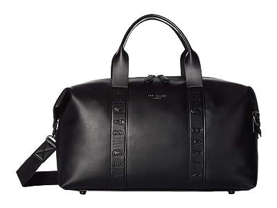 Ted Baker Moral Debossed Holdall (Black) Duffel Bags