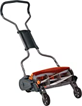 Fiskars StaySharp Max Reel Mower, 18 Inch (362050-1001),Black