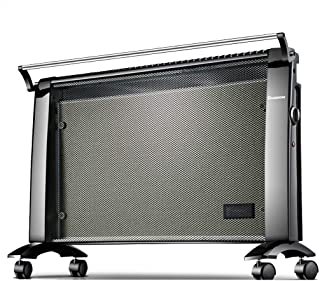 Calentador eléctrico móvil de 2000 vatios Temperatura constante inteligente, calefactor seco con protección de inclinación con humidificador y tendedero,