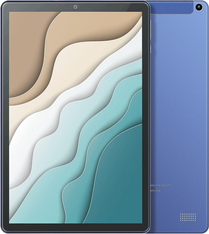 VAN KYO MatrixPad S21 10 inch Android Tablet, Octa-Core Processor, Android 9.0 Pie, 2GB RAM, 32GB Storage, 1280x800 IPS Display, Bluetooth 5.0, 5G Wi-Fi, GPS, Type C Port, Blue