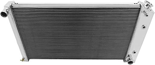 Champion Cooling, 2 Row All Aluminum Radiator for Multiple Chevrolet, Buick, EC161