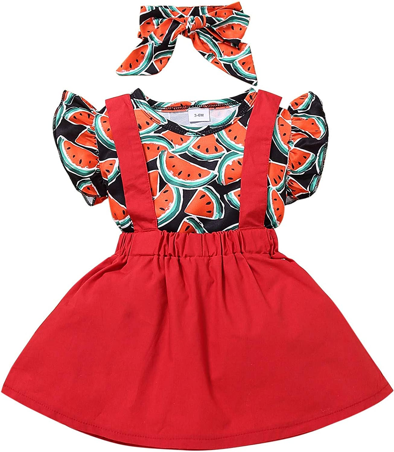 Fankle Toddler Baby Max 80% Max 90% OFF OFF Girl Solid Clothes Short Ruffle Sleeve Color