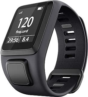 Sport Silicone Wristband Watchband Replacement for Tomtom Runner 2/3 Series, Spark 3, Golfer 2, Adventurer Smartwatch