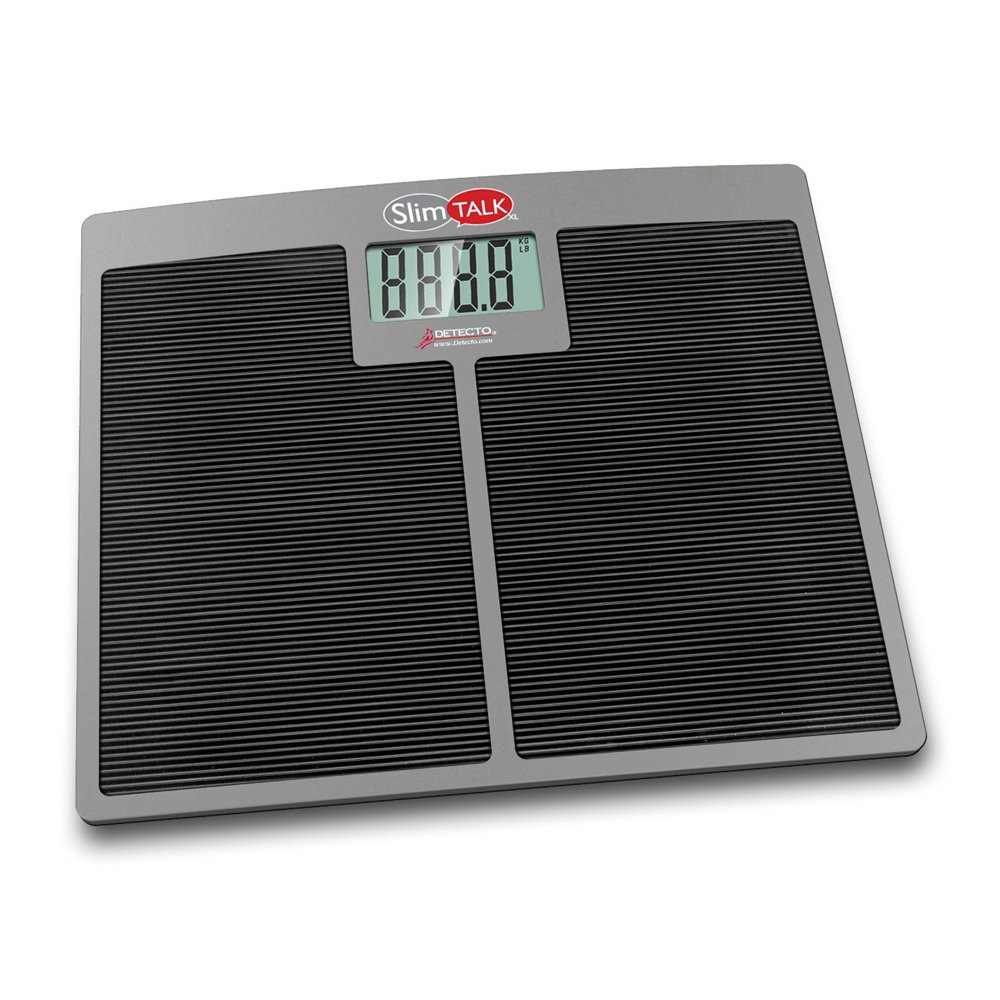 Detecto SlimTalkXL Talking Scale 550 Capacity