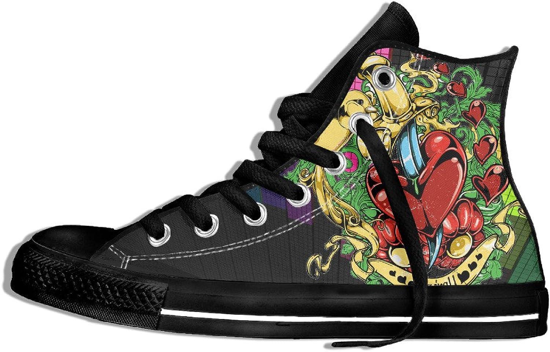 Yo Ou Heart and Bird Classic Sneaker Plimsoll