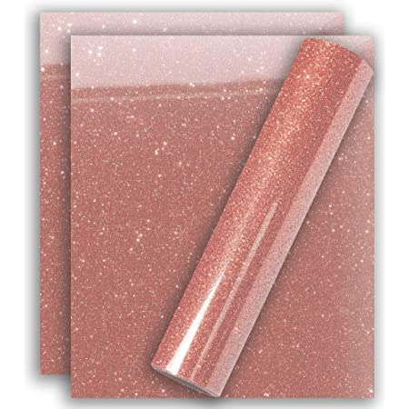HTV Vinyl Princess Bundle Rolls Sheets Heat Transfer Vinyls Glitter Solids Pinks Purple Rose Gold Iron On Heat Press Transfers Pink