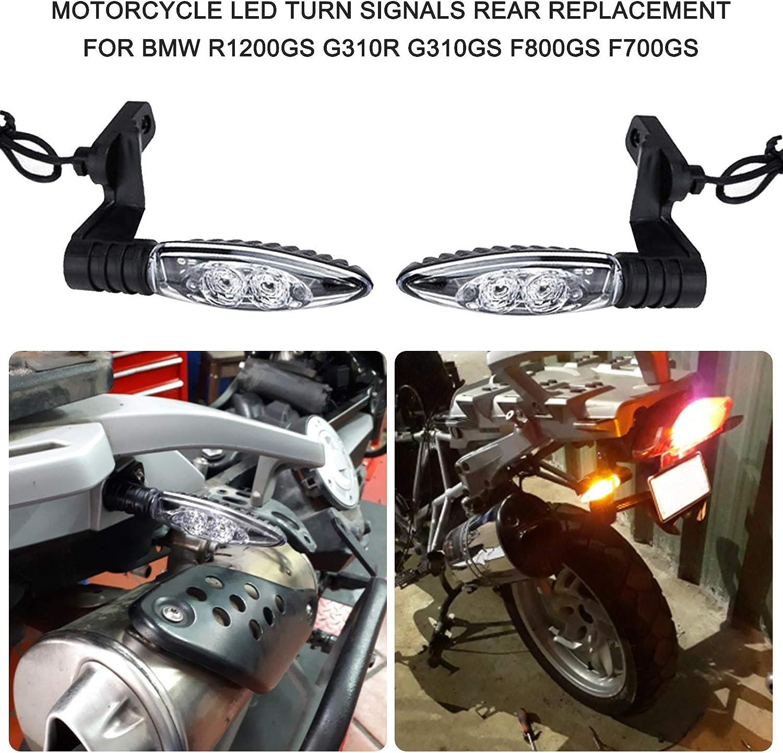 GoolRC Moto LED Clignotants indicateurs Avant et arri/ère Clignotants Remplacement pour BMW R1200GS G310R G310GS F800GS F700GS