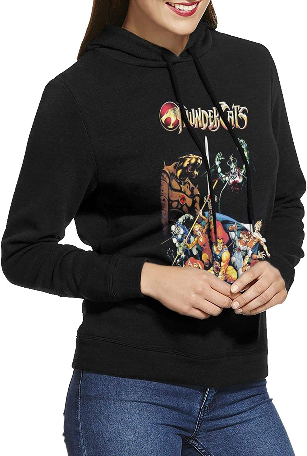 Thundercats Fort Worth Mall Hoodie price Woman'S Casual Cotton Sweatshirts Long Sleeve