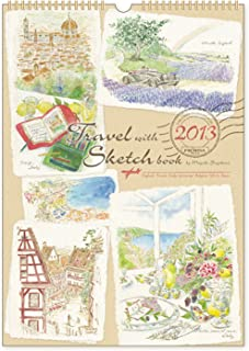 杉原美由樹 2013カレンダー トラベルスケッチ L