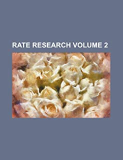 Rate Research Volume 2