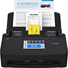 $379 » Fujitsu ScanSnap iX1600 Versatile Cloud Enabled Document Scanner for Mac or PC, Black (Renewed)