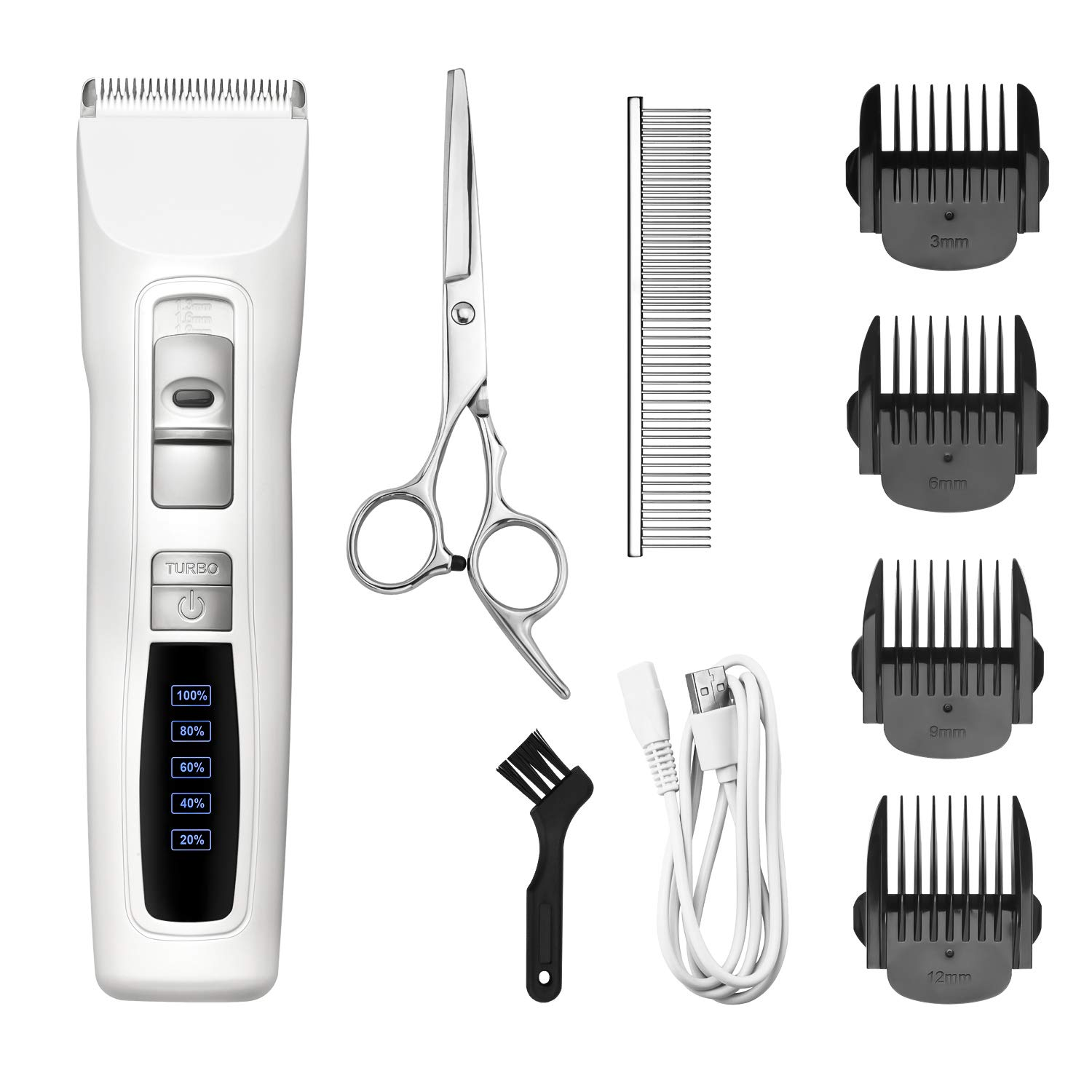 Bousnic Clippers Professional Cordless Rechargeable