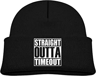 Straight Outta Timeout Toddler Beanie Cap Knit Hats