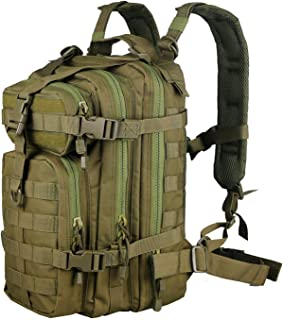 X&X Hiking Daypacks Hydration Pack Tactical Backpack Waterproof for Outdoor Travel Camping School (Bladder no Included)