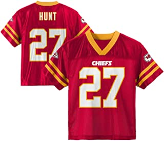 Outerstuff Kareem Hunt Kansas City Chiefs #27 Red Toddler Home Player Jersey