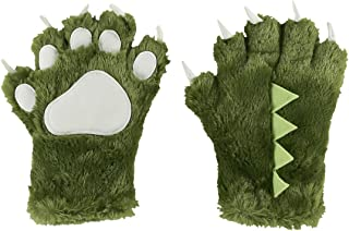 Lazy One Animal Paw Gloves for Adults and Kids
