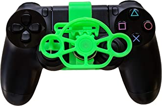 PS4 Racing Wheel - a 3D printed mini steering wheel add on for the PlayStation 4 controller