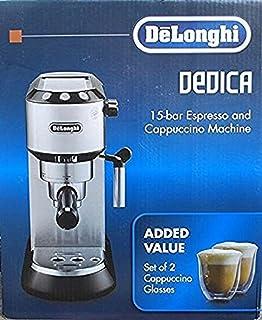 Delonghi Dedica 15 Bar Espresso and Cappuccino Machine Model EC680BMC 1300W