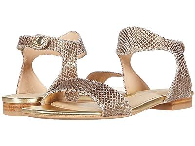 Jack Rogers Gwen Wave Sandal (Gold) Women