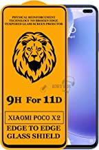 Xester Screen Protector for Xiaomi Poco X2,Tempered Glass Edge to Edge Full Screen Coverage with Easy installaition kit -[1 Pack]