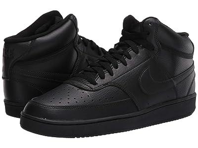Nike Court Vision Mid (Black/Black/Black) Men