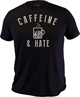 Ranger Up Bullets, Caffeine and Hate Ultra Thin Vintage Men's T-Shirt