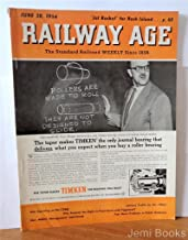 Railway Age Magazine June 28 1954 : Why So Much Military Traffic moves By Air, First New Type Talgo Train In The U.S.