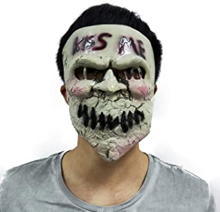 Gmasking 2019 Latex Election Year Killer Cosplay Kiss Me Mask Halloween Party Props