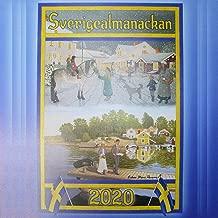 北欧カレンダー 2020年 壁掛け MADE IN SWEDEN (スウェーデン製)
