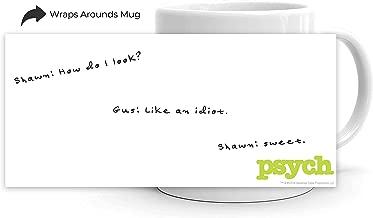 Psych How Do I Look? White Mug - 11 oz. - Official Coffee Mug